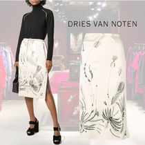 【18AW】★Dries Van Noten★embroidered high waist skirt