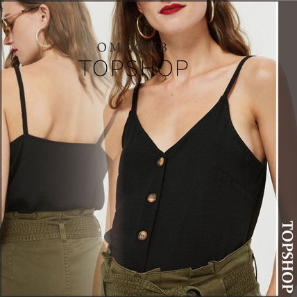 TOPSHOP マタニティトップス 【国内発送・関税込】TOPSHOP★Button Through Camisole Top