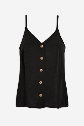 TOPSHOP マタニティトップス 【国内発送・関税込】TOPSHOP★Button Through Camisole Top(2)