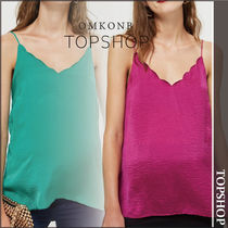 TOPSHOP(トップショップ) マタニティトップス 【国内発送・関税込】TOPSHOP★Satin Scallop Cami Top