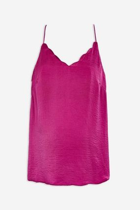 TOPSHOP マタニティトップス 【国内発送・関税込】TOPSHOP★Satin Scallop Cami Top(2)