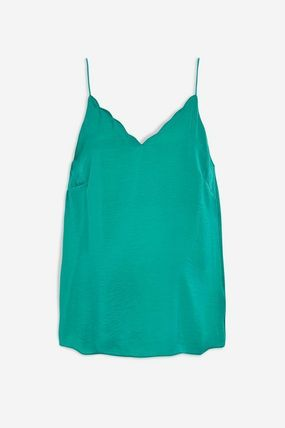 TOPSHOP マタニティトップス 【国内発送・関税込】TOPSHOP★Satin Scallop Cami Top(5)