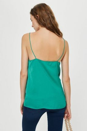 TOPSHOP マタニティトップス 【国内発送・関税込】TOPSHOP★Satin Scallop Cami Top(7)