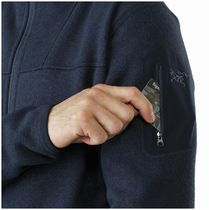 Arc'teryx - Covert Full-Zip Cardigan - Men's - Pompeii