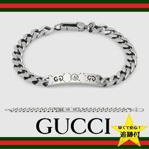 ★追跡有【GUCCI】Ghost chain bracelet in silver★