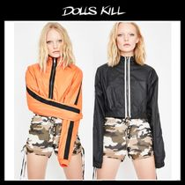 関税/送料込*DOLLS KILL*AHEAD OF MYSELF CROPPED WINDBREAKER