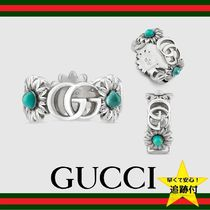 ★追跡有【GUCCI】Double G flower ring★