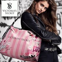 NEW victoria's secret Graffiti weekender bagトートバッグ