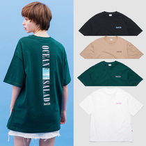 Default(デフォルト) Tシャツ・カットソー 【Default】COLUMN TEXT TEE (4color) - UNISEX