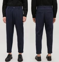 """COS(コス) パンツ """"COS MEN""""RELAXED CREPE WOOL TROUSERS INDIGO"""