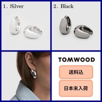 ■日本未入荷・送料込■ Tom Wood Ice Hoop Small Silver/Black