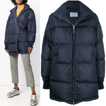 PR1244 OVERSIZED DOWN JACKET WITH VELCRO STRAP