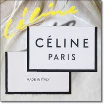New◆CELINE◆人気MADE IN LARGE CLUTCH POUCH IN TEXTILE Black