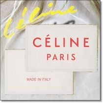New◆CELINE◆人気 MADE IN LARGE CLUTCH POUCH IN TEXTILE Red