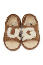 UGG Genuine Shearling Slide Sandal *トドラー用