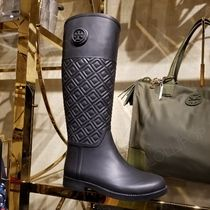 2018AW♪ Tory Burch ★ MARION QUILTED RAIN BOOT