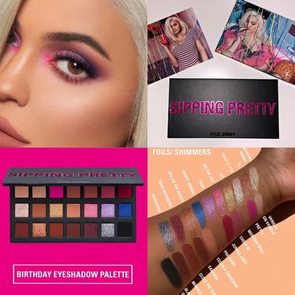 NEW! kylie cosmetics★BIRTHDAY EYE PALETTE 21色