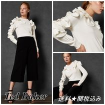 """☆2018/19AW新作☆【TED BAKER】""""PALLEGE""""フリル♪トップス"""