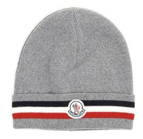 MONCLER Corporate Wool Beanie