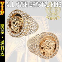 "◆◆VIP◆◆ VERSACE  ""MEDUSA"" ALL OVER CRYSTAL Ring / 送税込"