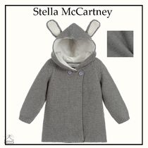 Stella McCartney☆BABY ニット カーディガン gray 3-36M