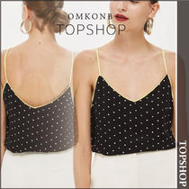 【国内発送・関税込】TOPSHOP★ Polka Dot Cami Top