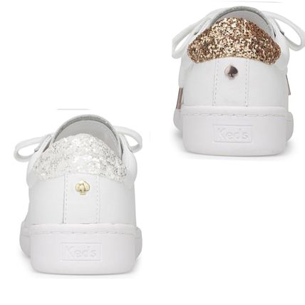 kate spade new york スニーカー 関税込☆Keds x Kate Spade ACE LEATHER GLITTER☆セール!(4)
