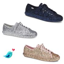 関税込☆Keds x Kate Spade KICKSTART ALL OVER GLITTER☆セール