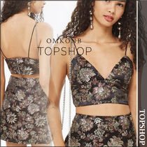 【国内発送・関税込】TOPSHOP★Nights- Satin Crop Top by WYLDR