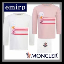 18-19AW☆MONCLER★ダックプリント長袖Tシャツ☆3M-3A