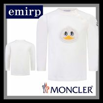18-19AW☆MONCLER★ダックアップリケ長袖トップス☆3M-3A
