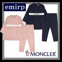 18-19AW☆MONCLER★ロゴワンピース&レギンスセット☆9M-3A
