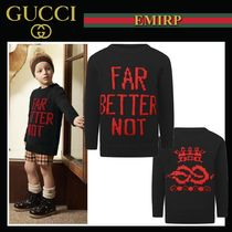 18-19AW☆GUCCI 大人もOK☆Far Better Notセーター
