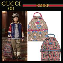 GUCCI 大人もOK☆GG Supremeデザインプリントバックパック