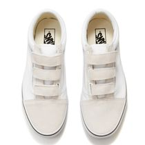 VANS☆OLD SKOOL ベルクロ true white(22‐29㎝)VN0A3D29W001