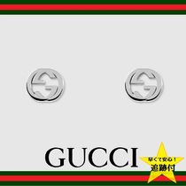 ★追跡有【GUCCI】Silver interlocking G earring★