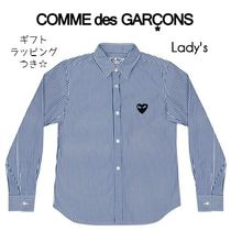 ☆COMME des GARCONS☆lady's PLAY プレイ シャツ ハートロゴ