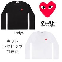 COMME des GARCONS(コムデギャルソン) Tシャツ・カットソー ☆COMME des GARCONS☆lady's ハート プレイ ロングTシャツ