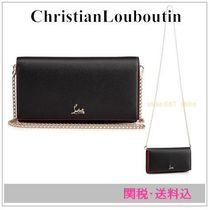 ChristianLouboutin Boudoirチェーンウォレット 関・送込