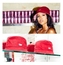 入手困難 KITH WOMEN X COCA-COLA TERRY CLOTH BUCKET CAP