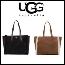 SALE【UGG】Charlie Suede Tote Bag ムートン★ふわふわ