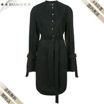 すぐ届く▼Long Sleeve Shirt Dress