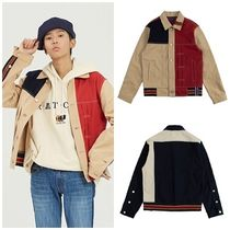日本未入荷ROMANTIC CROWNのColor Block Trucker Jacket 全2色