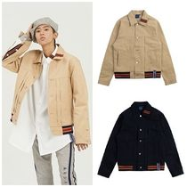 日本未入荷ROMANTIC CROWNのColor Tape Trucker Jacket 全2色