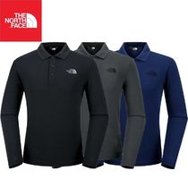 THE NORTH FACE★M'S ESSENTIAL L/S POLO 3カラー