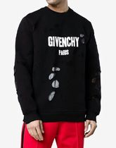 【関税負担】 GIVENCHY DISTRESSED SWEATSHIRT