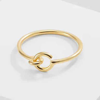 Maria Black☆HOOK RING  / gold