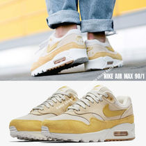NIKE★AIR MAX 90/1★スウェード★GUAVA ICE / WHEAT GOLD