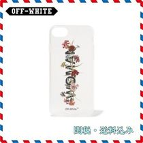 ◆Off-White◆ 新作 プリントクリアiphone 7/8 and X case