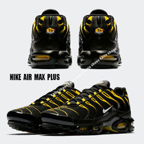 NIKE★AIR MAX PLUS★BLACK/VIVID SULFUR